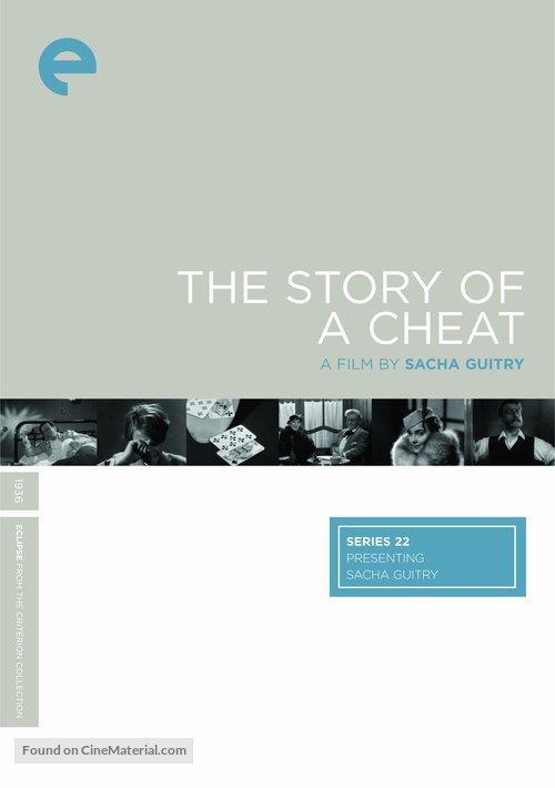 Le roman d'un tricheur - DVD cover