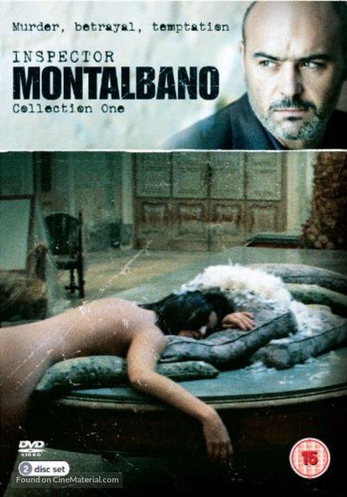 """Il commissario Montalbano"" - British DVD movie cover"