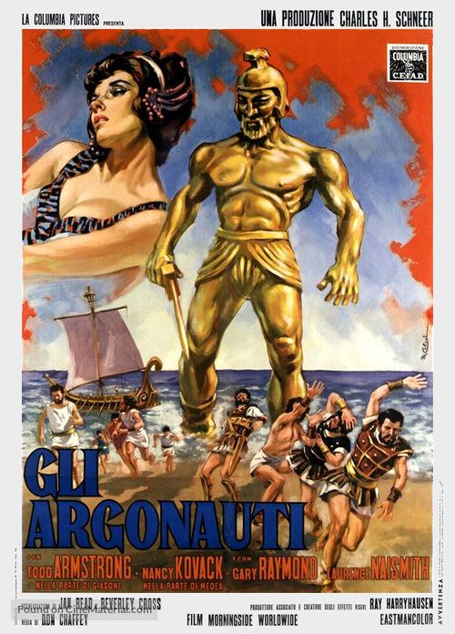 Jason and the Argonauts - Italian Movie Poster