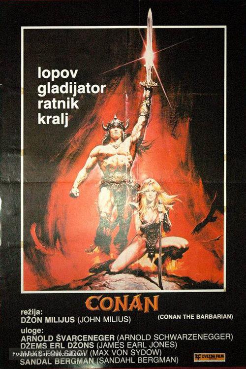 Conan The Barbarian - Polish Movie Poster