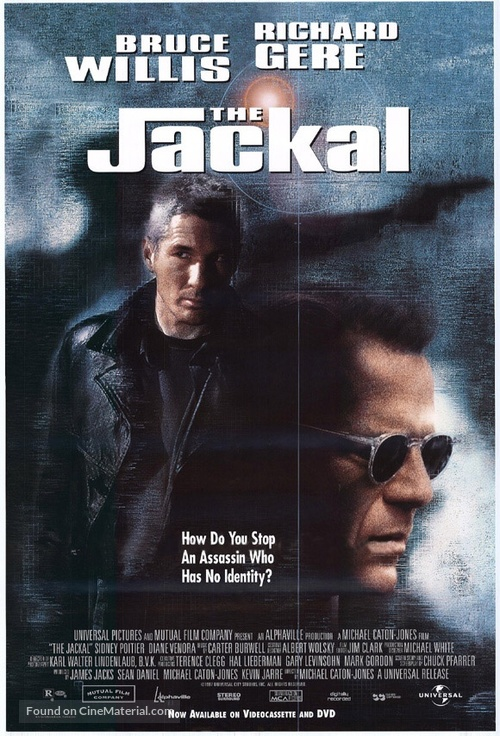 The Jackal - Video release movie poster