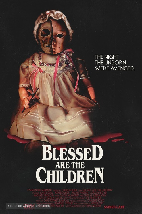 Blessed Are the Children - Movie Poster