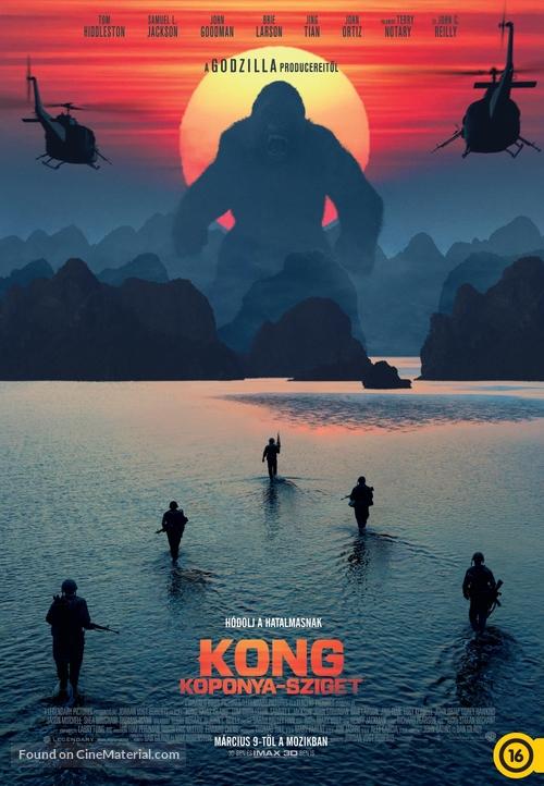 Kong: Skull Island - Hungarian Movie Poster