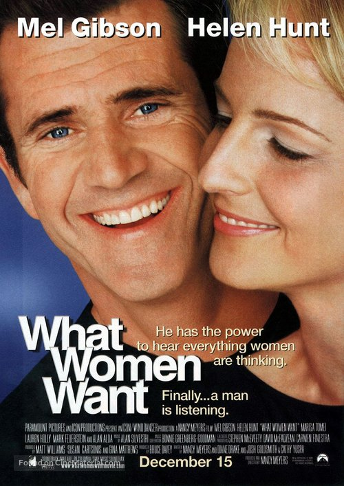 What Women Want - Movie Poster