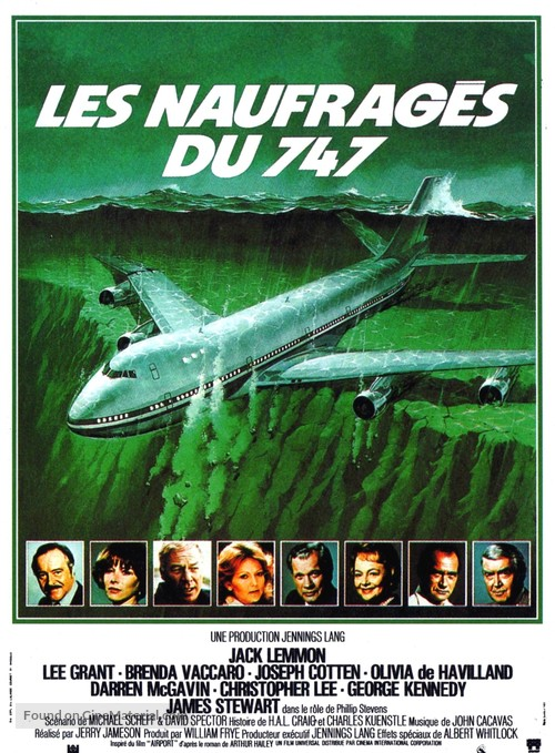 Airport '77 - French Movie Poster