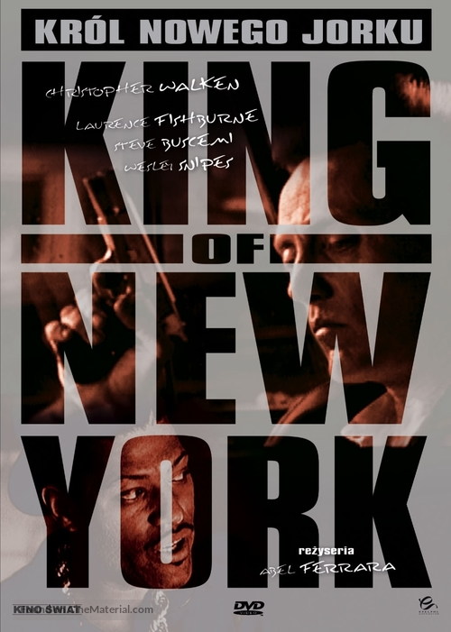 King of New York - Polish DVD movie cover