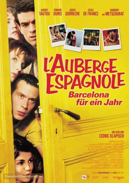 L'auberge espagnole - German Movie Poster