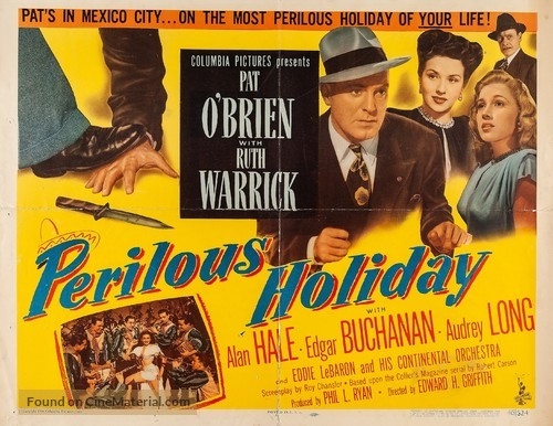 Perilous Holiday - Movie Poster