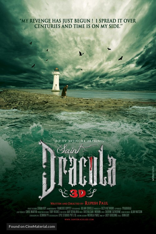 Saint Dracula 3D - Movie Poster