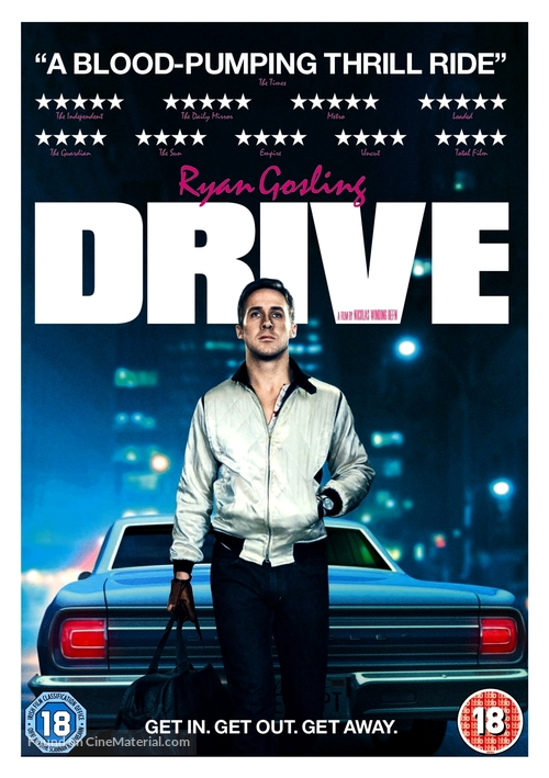 Drive - British DVD cover