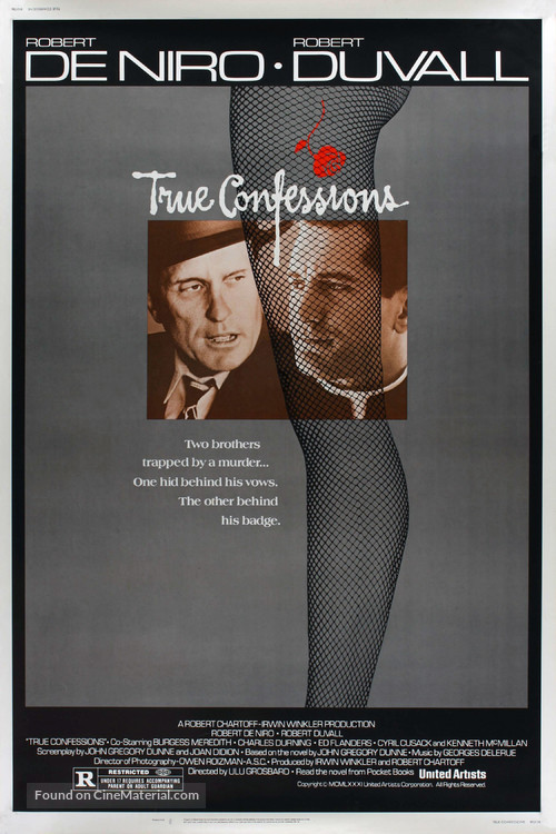 True Confessions - Movie Poster