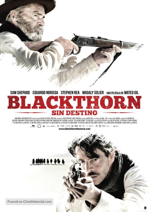 Blackthorn - Spanish Movie Poster