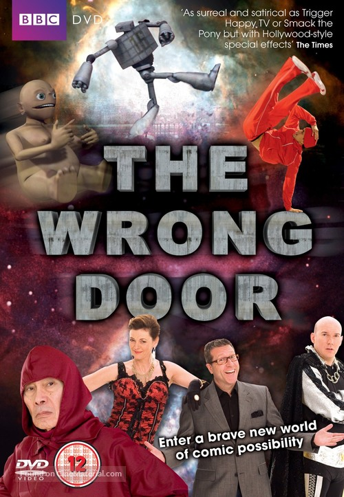 """""""The Wrong Door"""" - British DVD movie cover"""