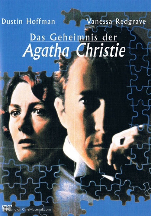 Agatha - German DVD movie cover
