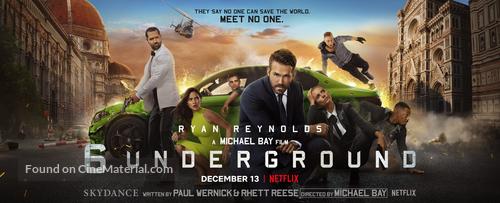 6 Underground - poster