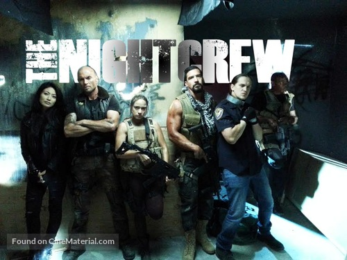 The Night Crew - Dutch Movie Poster