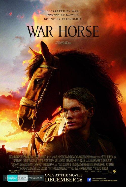 War Horse - Australian Movie Poster