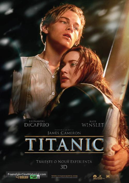 Titanic - Romanian Movie Poster