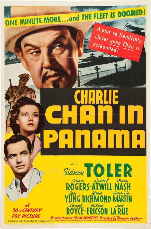 Charlie Chan in Panama - Movie Poster