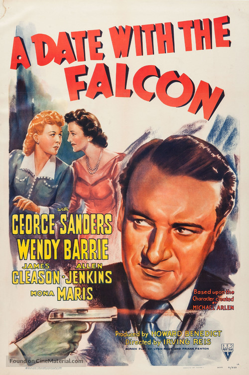 A Date with the Falcon - Movie Poster