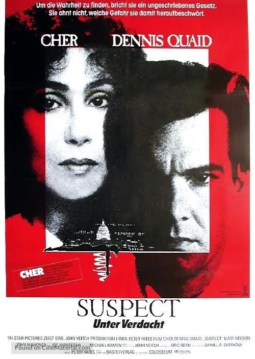 Suspect - German Movie Poster