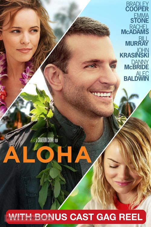 Aloha - DVD movie cover