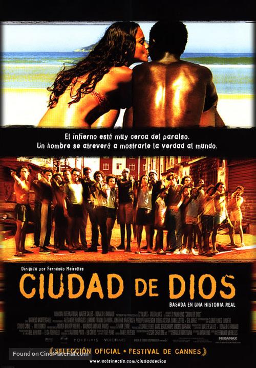 Cidade de Deus - Mexican Movie Poster