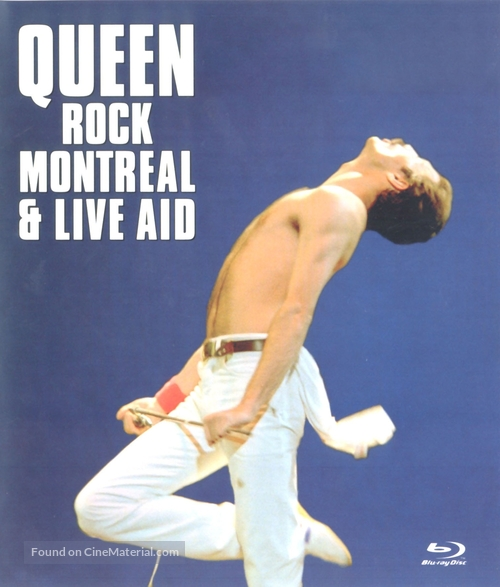 Queen Rock Montreal & Live Aid - Movie Cover
