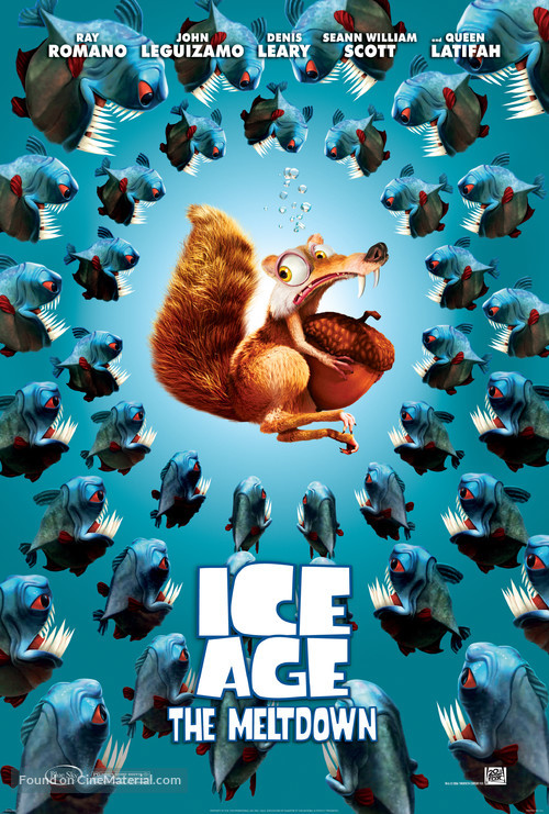 Ice Age: The Meltdown - Movie Poster