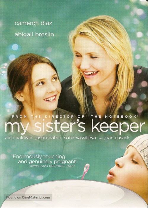 My Sister's Keeper - DVD movie cover