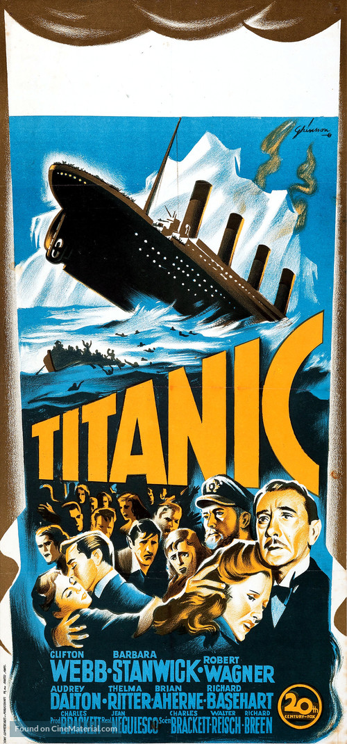 Titanic - French Movie Poster