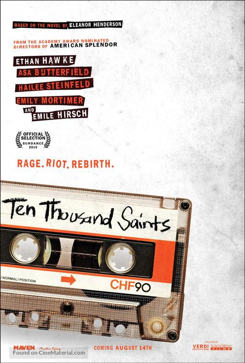 Ten Thousand Saints - Movie Poster
