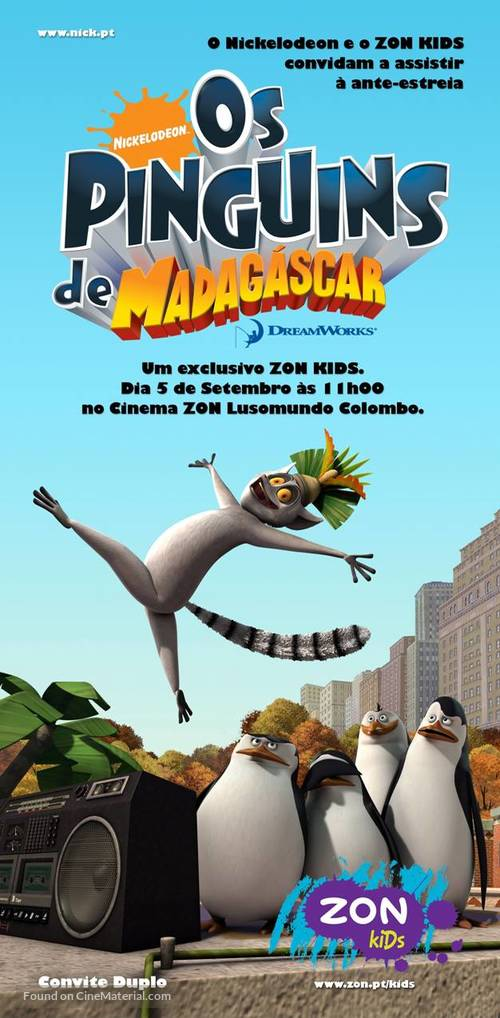 MOVIE POSTER~Penguins of Madagascar 2014 Double Sided D//S Film Sheet Print New~