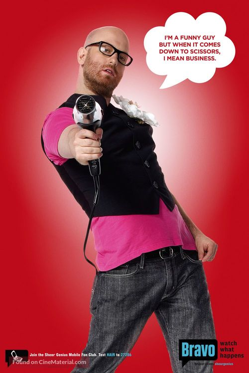 """""""Shear Genius"""" - poster"""