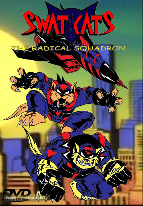 swat kats the radical squadron dvd cover