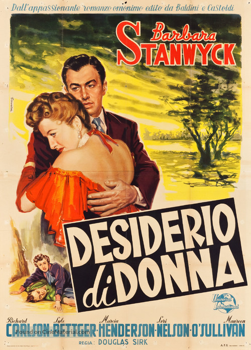 All I Desire - Italian Movie Poster