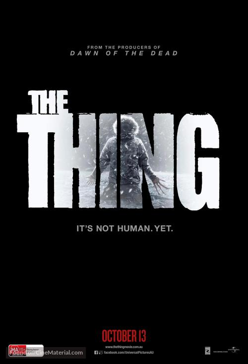 The Thing - Australian Movie Poster