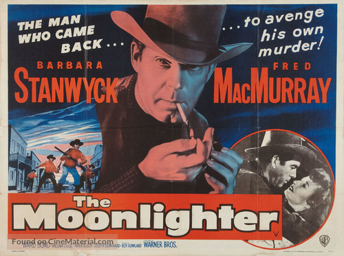 The Moonlighter - British Movie Poster
