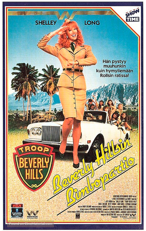 Troop Beverly Hills - Finnish VHS movie cover