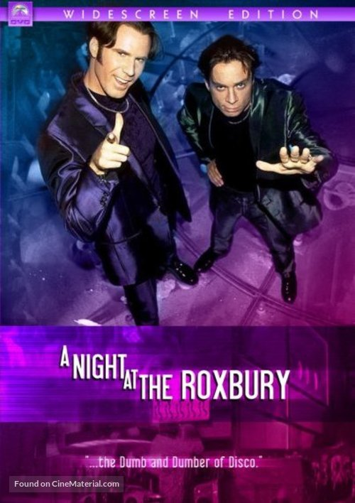 A Night at the Roxbury - DVD movie cover