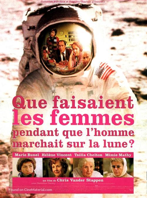 Que faisaient les femmes pendant que l'homme marchait sur la lune? - French Movie Poster