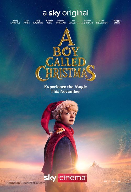 A Boy Called Christmas - British Movie Poster