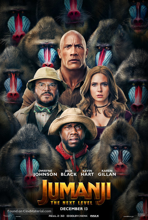 Jumanji: The Next Level - Movie Poster