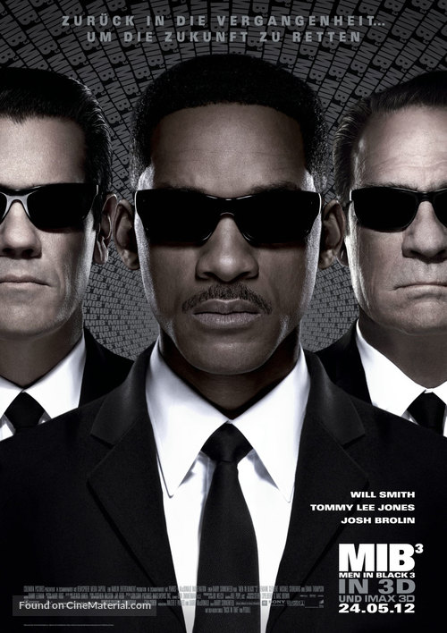 Men in Black 3 - German Movie Poster