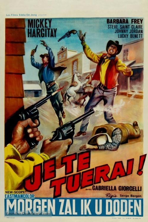 Uno straniero a Sacramento - Belgian Movie Poster