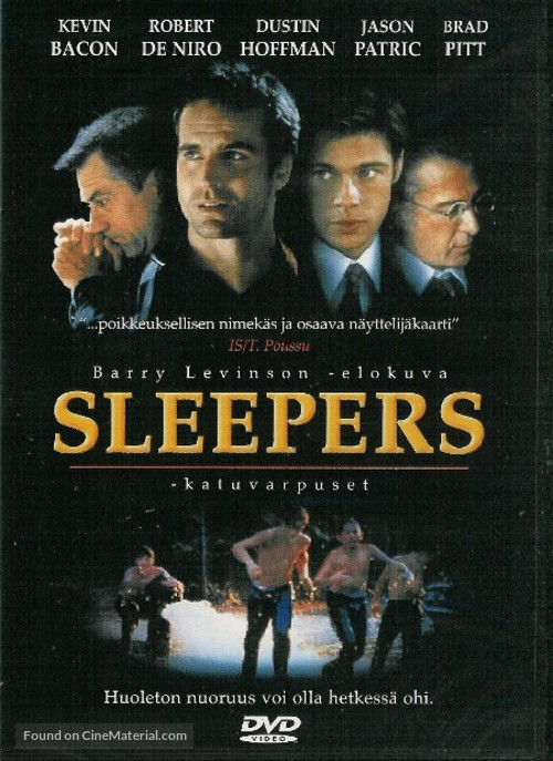 Sleepers - Finnish DVD movie cover