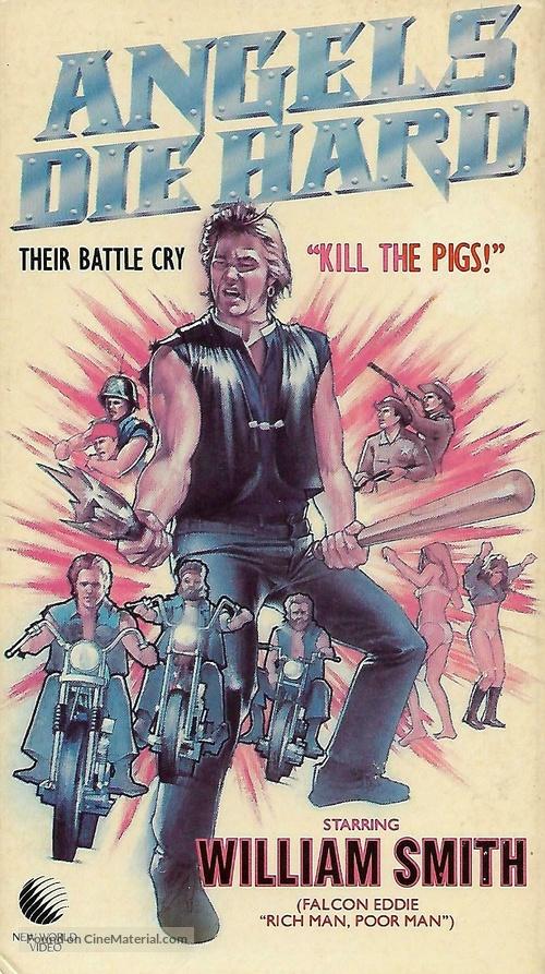 Angels Die Hard - VHS movie cover