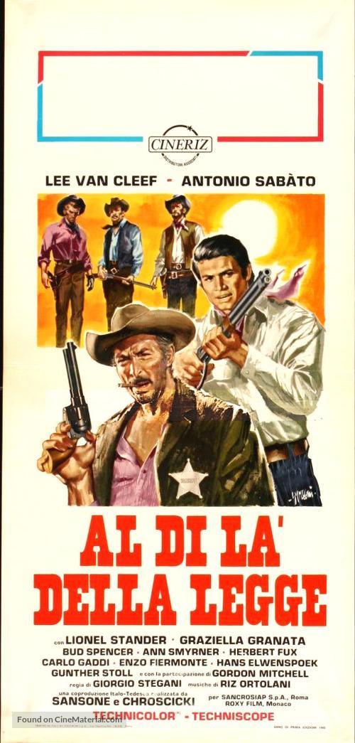 Al di là della legge - Italian Movie Poster