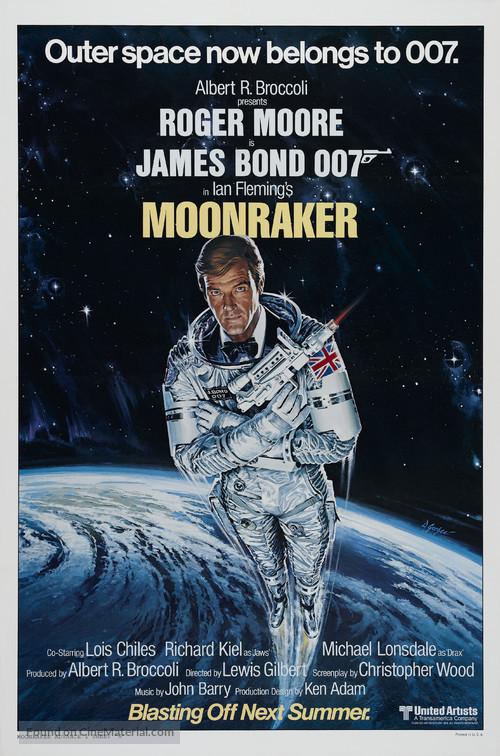Moonraker - Advance movie poster