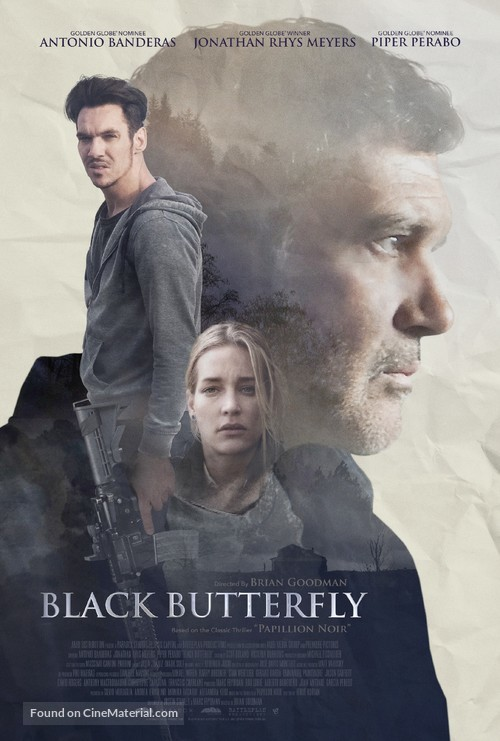 Black Butterfly - Movie Poster